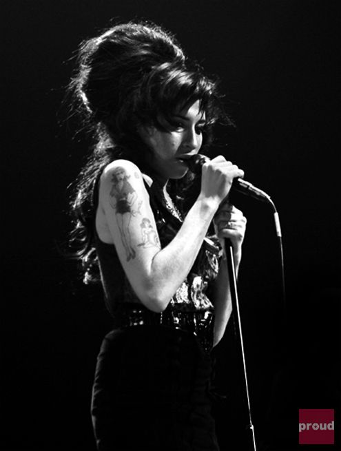 Amy Winehouse - I still tear up when I hear her music. One of the only celebrities to pass that I have actually mourned for. <3