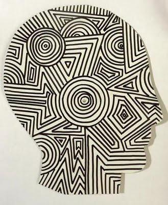 interesting op art idea