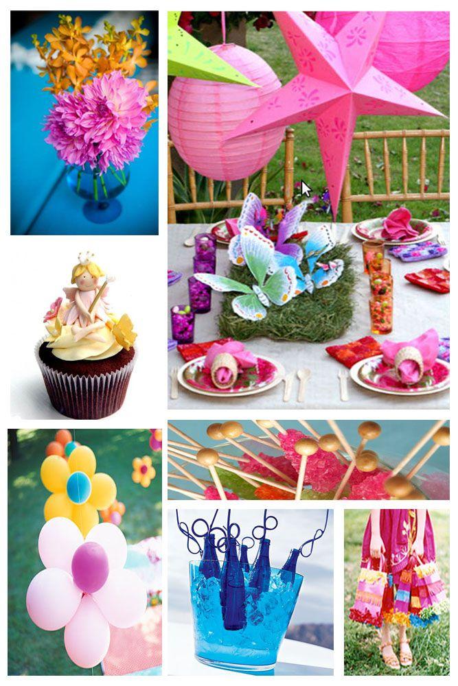 boho girls birthday party: Balloon Flowers, Party'S, Outdoor Kids, Kids Birthday Parties, Girls Birthday Parties, Parties Ideas, Fairies Parties, Birthday Party Ideas, Birthday Ideas
