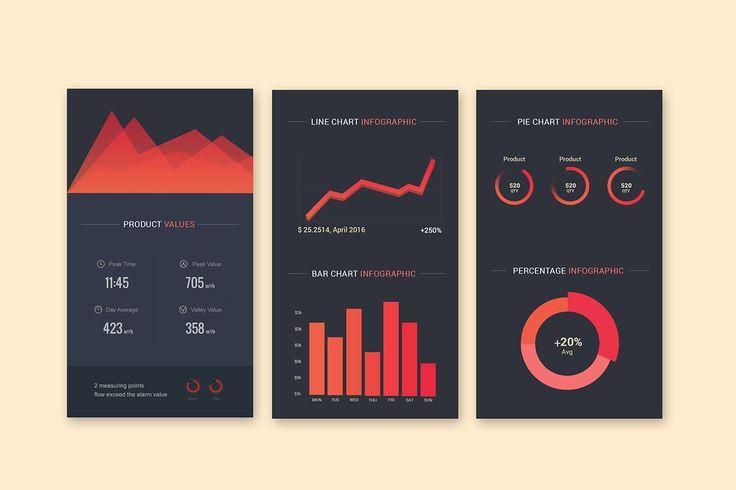 Infographic UI Styles on Behance