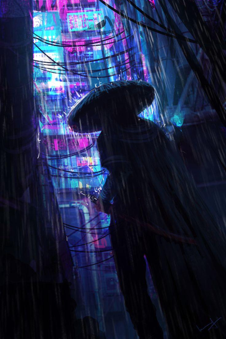 Samurai, Imad Awan on ArtStation at https//www