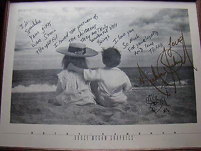 Michael Jackson autograph and handwritten note authentic original    eBay
