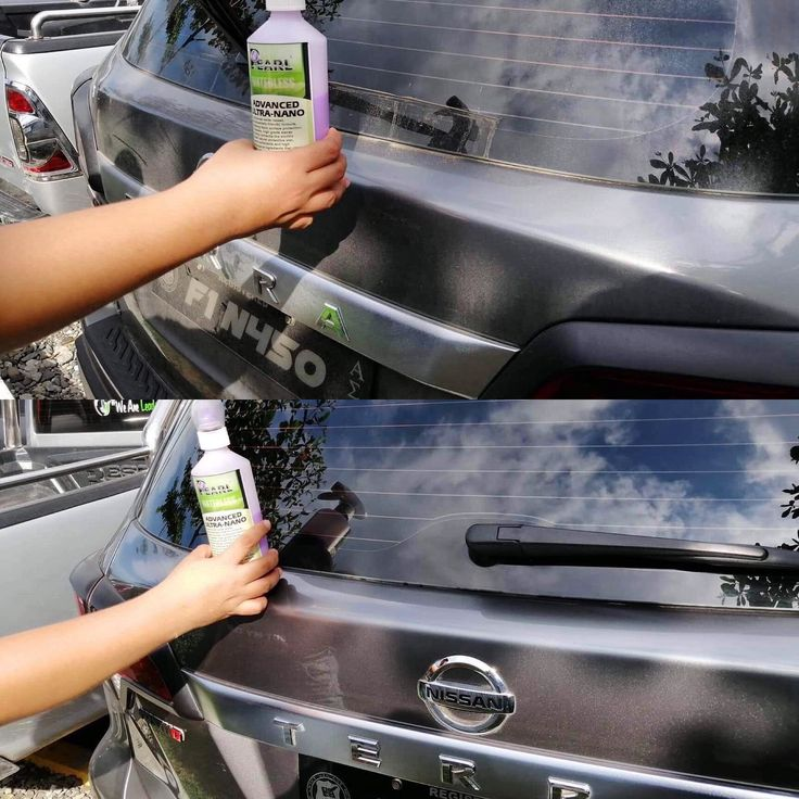Treat your glass to some Nano class . . . Cleans, polishes