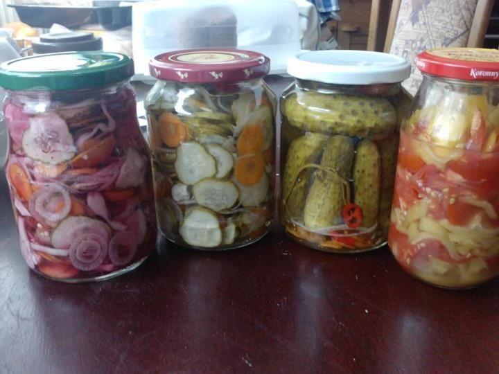 Fotorecept: Sterilizovaná zelenina