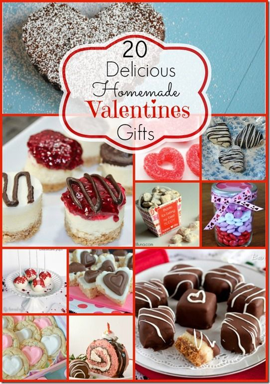 20 Homemade Edible Valentines Day Gift Ideas