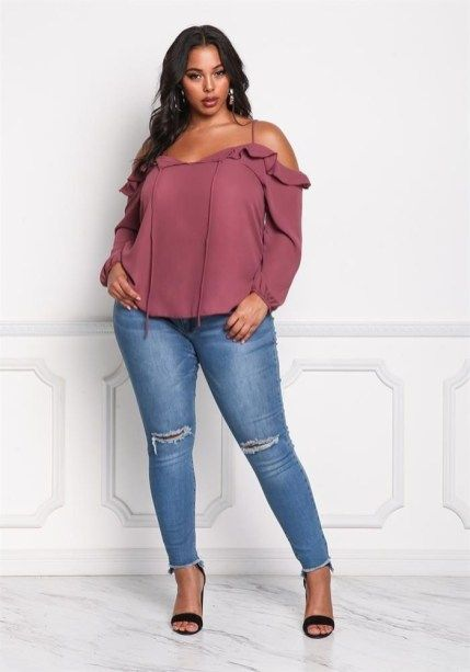 Cute Spring Blouses Women Plus Size To Look Small 34