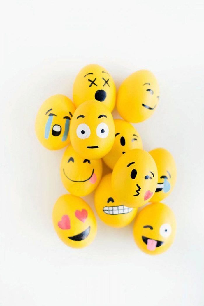 Πασχαλινά αυγά DIY Emoji για να τρελαθούν όλοι!  #chat #diakosmisi #DIY #emoji #emoticons #internet #pasxa #smile #αυγα #βαμμενααυγα #βαψιμο #βαψιμοαυγών #διακοσμησηαυγων #έμπνευση #ιδέες #καντομονος #παιδικααυγα #πασχαλινααυγα #φτιάξτομόνοςσου