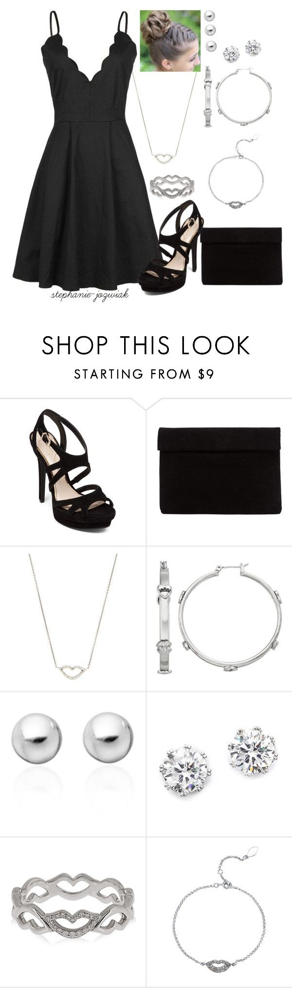 """Farren's Outfit for Brad's Funeral"" by stephanie-jozwiak ❤ liked on Polyvore featuring Jessica Simpson, Raphaele Canot, Juicy Couture, Astley Clarke and Kenneth Jay Lane"