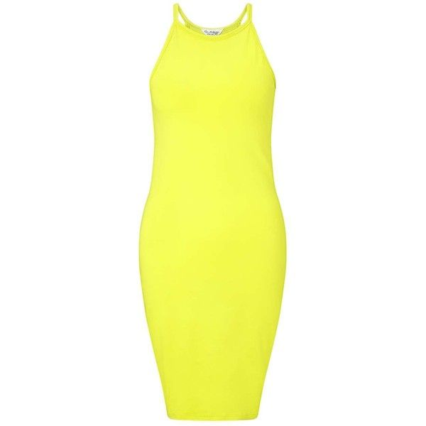 Backless yellow dress polyvore set