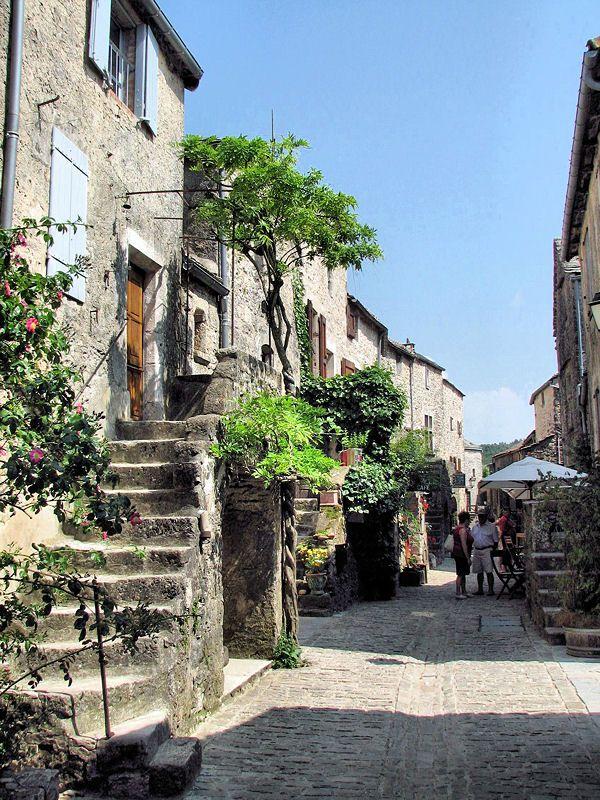 Medieval village de La Couvertoirade,  Aveyron~