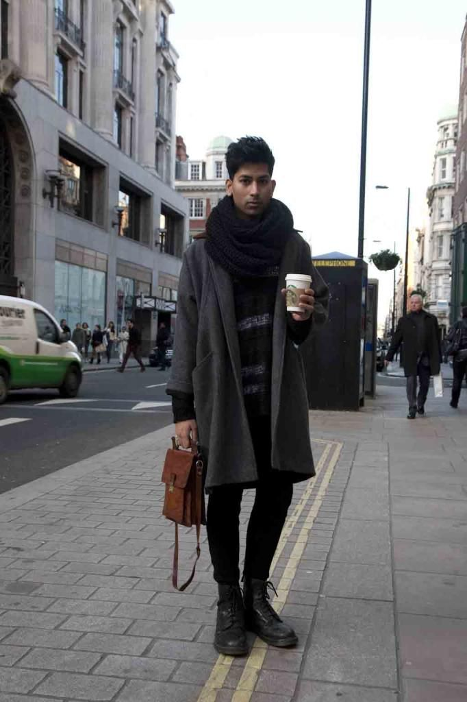 LONDON / outer: American Apparel / bottoms: CheapMonday / shoes: Dr.Martens