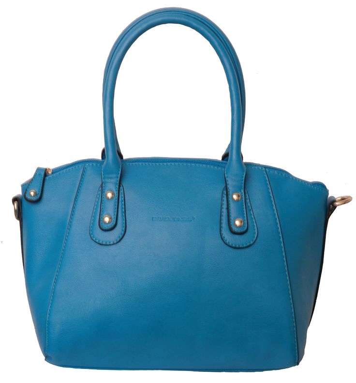 David Jones Blue Handbag