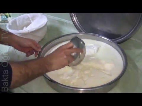 geleneksel yöntemle yoğurt ve kaymak yapımı - YouTube