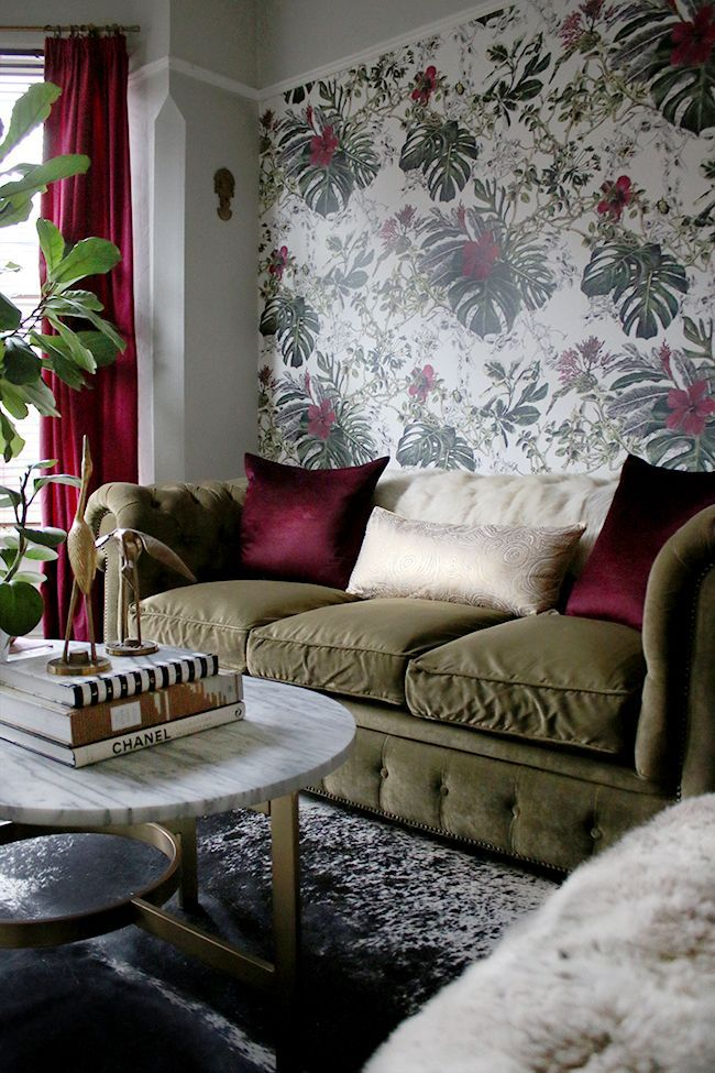 eclectic boho glam living room from swoon worthy blog http://www.swoonworthy.co.uk