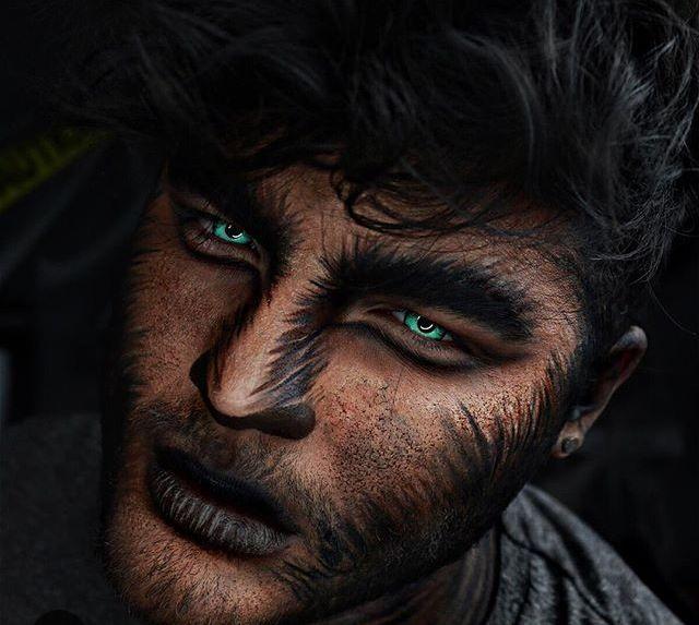 Werewolf makeup                                                       …