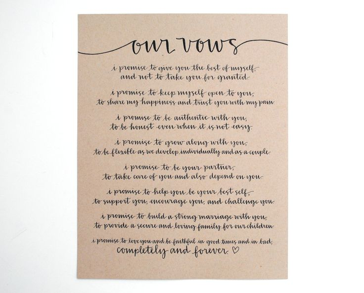 Best 20+ Traditional Wedding Vows Ideas On Pinterest