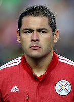 Conmebol_Concacaf - Copa America Centenario 2016 - <br /> Paraguay National Team - <br /> Pablo Aguilar