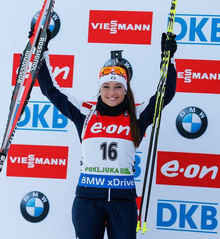 Dorothea Wierer Photos: IBU Biathlon World Cup: Women's Sprint