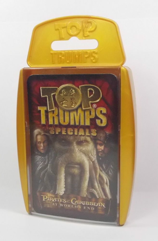 Top Trumps - Pirates of the Caribbean - Worlds End - Complete Set 30 Cards (1)