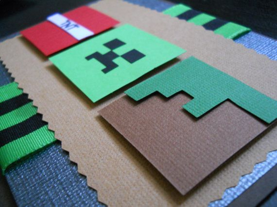 179 best minecraft party images on pinterest minecraft party minecraft invitations by delightfulmotif on etsy solutioingenieria Images