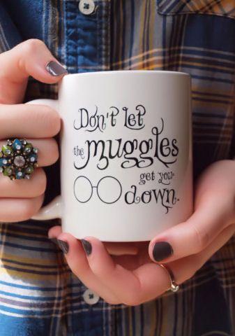 Don't Let Muggles get you Down Coffee Mug #harrypotter