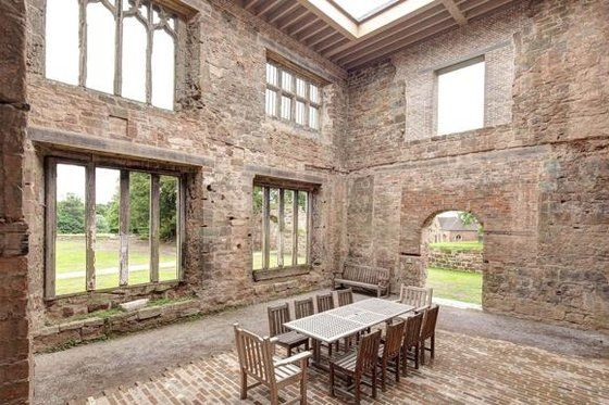 Best of both worlds: the renovation of Astley Castle, in Warwickshire, won the 2013 Riba prize
