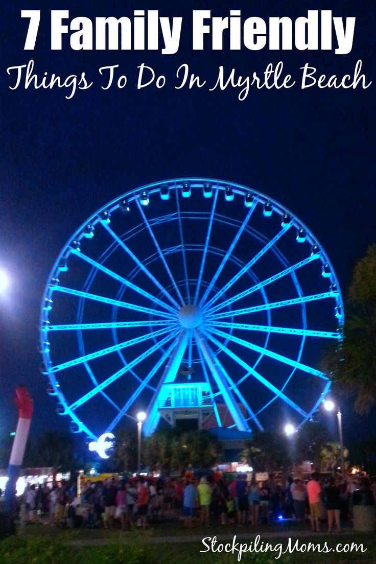 7 Kid Friendly Things To Do In Myrtle Beach