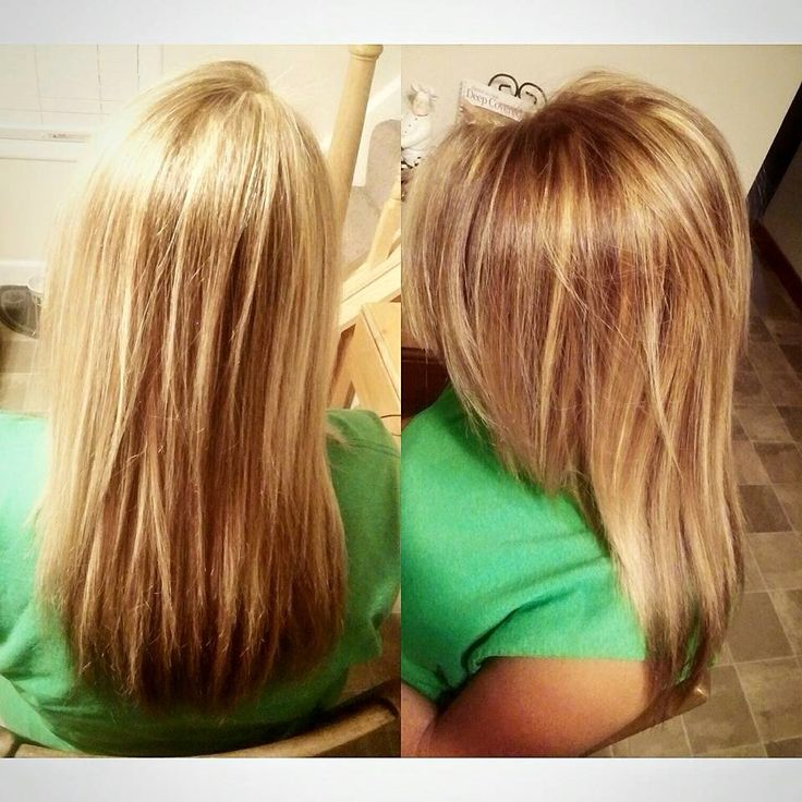 Golden blonde hair with brown lowlights! | Hair
