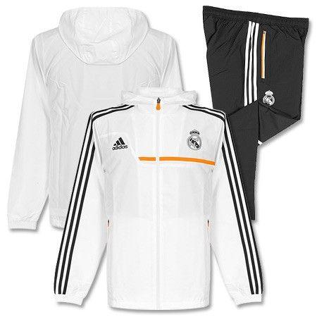 Chándal de Presentación del Real Madrid 2013-2014 - Blanco