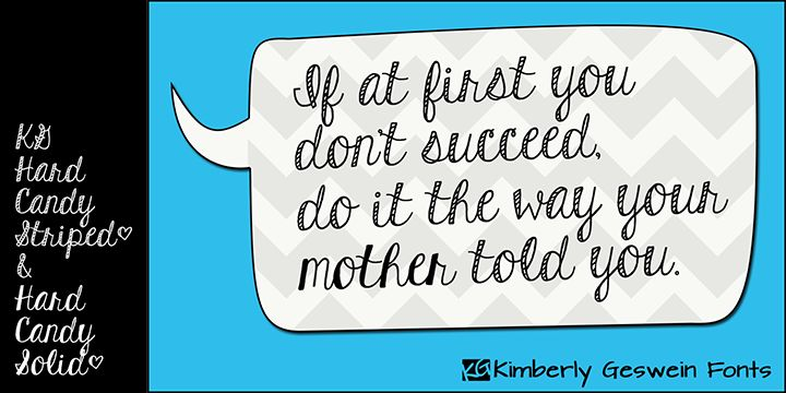 If at first you don't succeed... | KG Hard Candy
