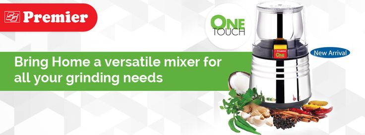 Bring Home a versatile mixer for all your grinding needs