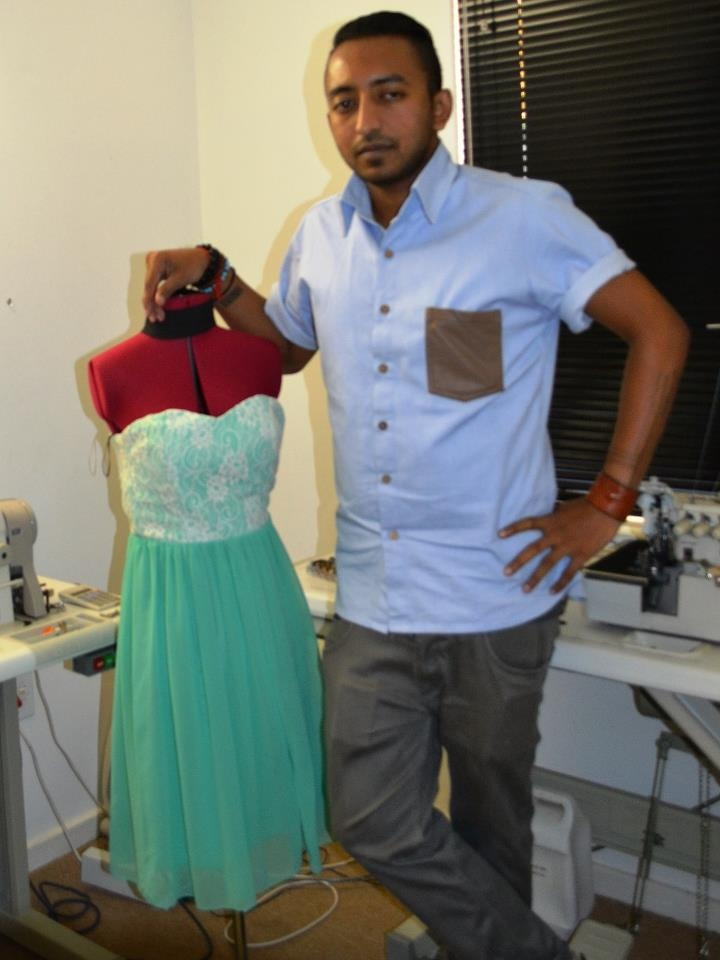 Thiran Moodley of the clothing label SPINE
