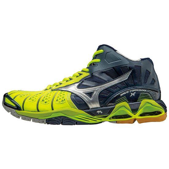 Mizuno Men's Wave Tornado X Mid Volleyball Shoes