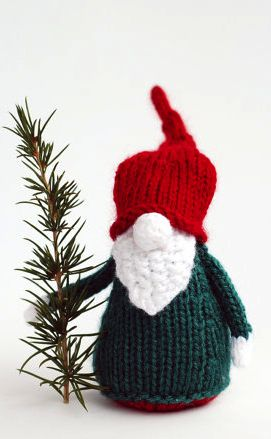 3 Gnomes - pdf knitting patterns.