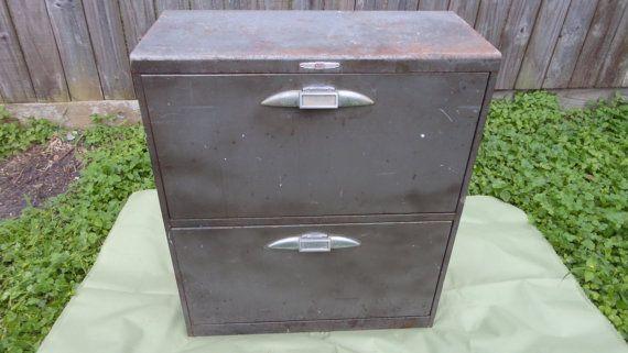 yawman and erbe metal file cabinet 2