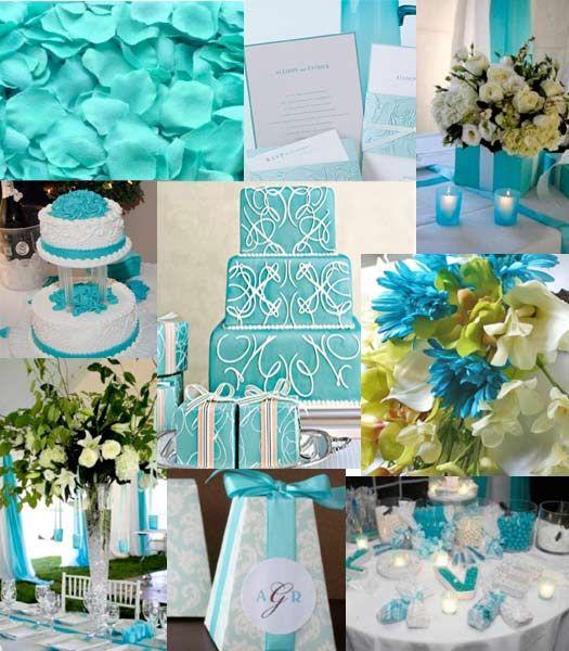 Turquoise Blue White Beach Theme Kitchen: 1000+ Ideas About Aqua Wedding Colors On Pinterest