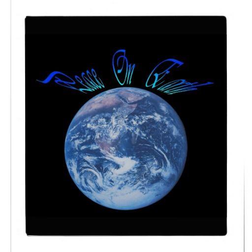 Peace On Earth vinyl binder