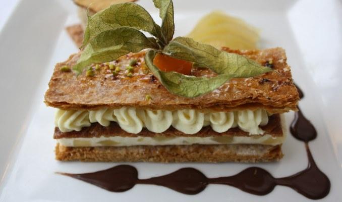 Notre Millefeuille à la Poire sur www.gastronomica.fr