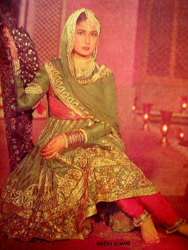 "Meena Kumari one of the most popular actresses from late 40s often cited by media and literary sources as ""The Tragedy Queen"", both for her frequent portrayal of sorrowful and dramatic roles in her films and her real-life story - wiki"