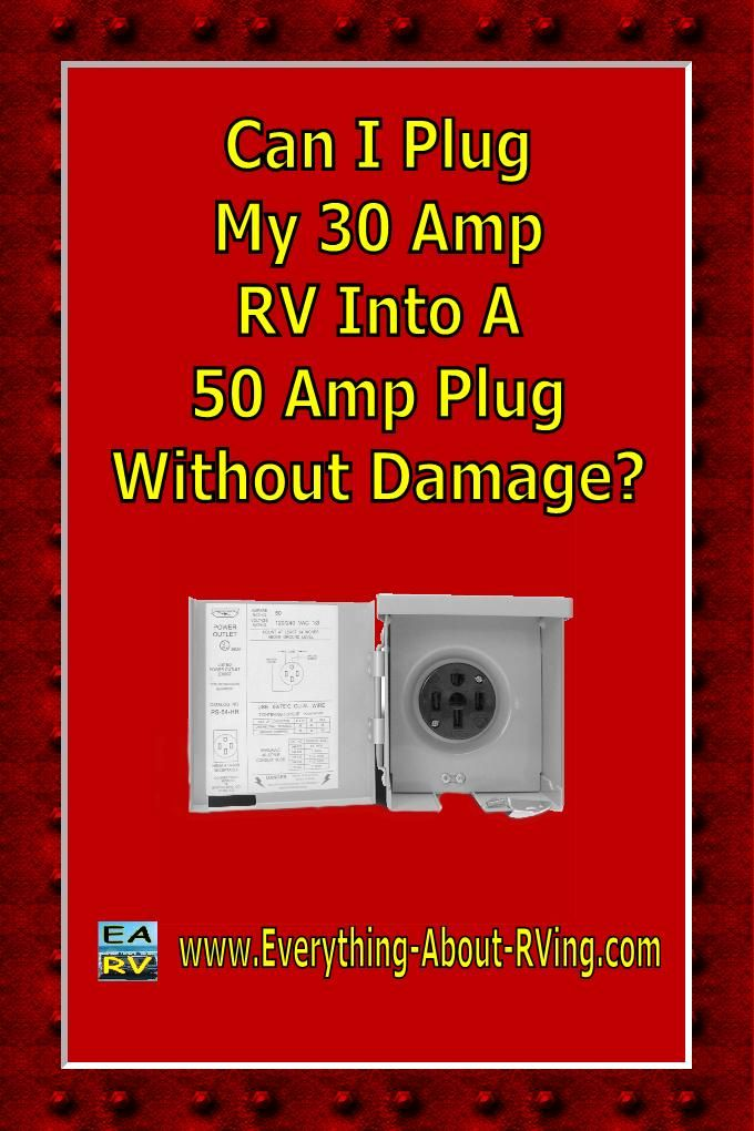 Here is our answer to: Can I Plug My 30 Amp RV Into A 50 Amp Plug Without…