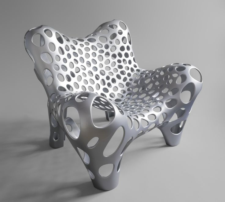 The Fauteuil II is a complement to Aduatz´ diploma project in 2007, the Dormeuse. The object combines a sculptural and opulent shape with a load bearing system of cell-like appearance in a usable object that is inspired by the classical armchair. Natural structures, such as bones, are ingeniously optimized load bearing systems which have a low density at a maximum load capacity