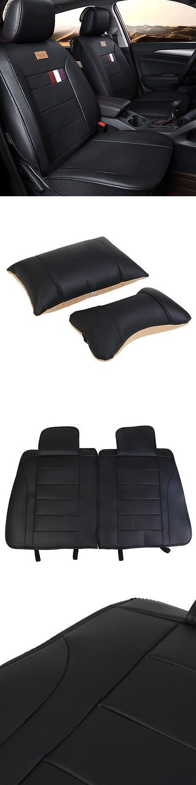 Saddle Covers Seat Covers 177838: Black Color Leather Car Seat Covers Mazda Cushions Modern Sonata Eight Cushions -> BUY IT NOW ONLY: $98.39 on eBay!