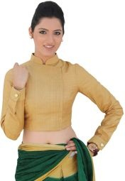 Full sleeve pin tuck saree Blouse