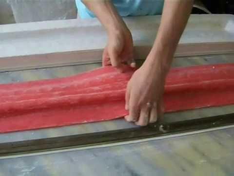 Процесс декорирования лепнины. Decorative moulding in progress. Oldiss_decor - YouTube