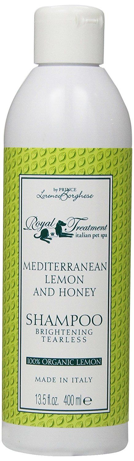 Royal Treatment Mediterranean Lemon and Honey with Organic Oatmeal Tearless and Brightening Shampoo for Pets, 13.5-Ouce * Additional details at the pin image, click it  : Dog supplies for health