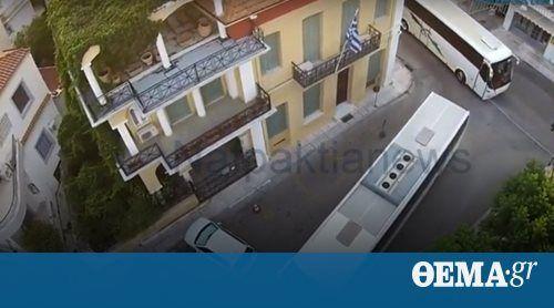 Δείτε το βίντεο - Χαμός στο κέντρο της πόλης, καθώς το κονβόι διέσχισε την περιμετρική οδό, πέρασε από το λιμάνι και σήκωσε στο πόδι τους κατοίκους