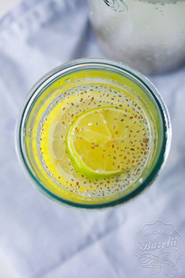 Lemoniada chia fresca to naturalny izotonik, polecany dla sportowców oraz osób aktywnych, zarówno fizycznie, jak i