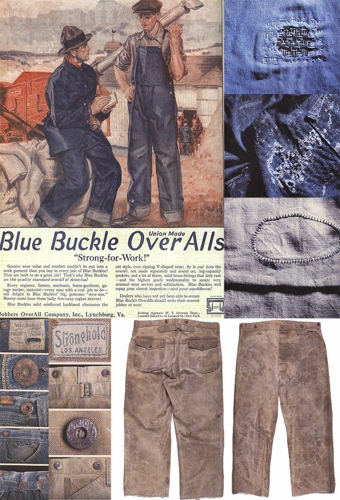 Mens Collections: Industrial Antique Mens Workwear Part 1