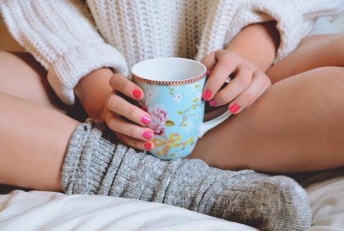 осень чашка