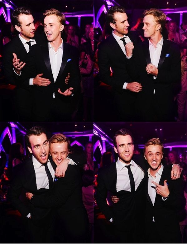 The two best looking guys on Harry Potter.